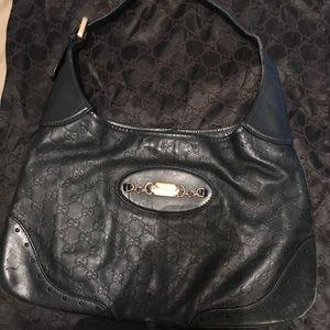 Authentic Gucci guccissma hobo bag